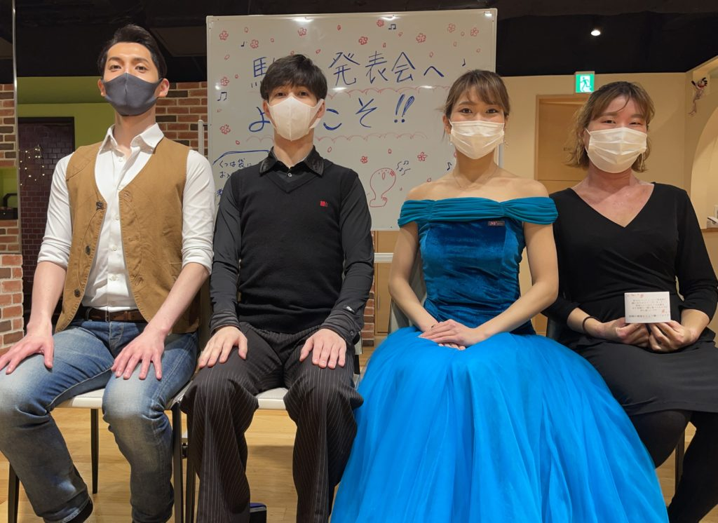 駒込スタジオパーティースタッフ集合写真